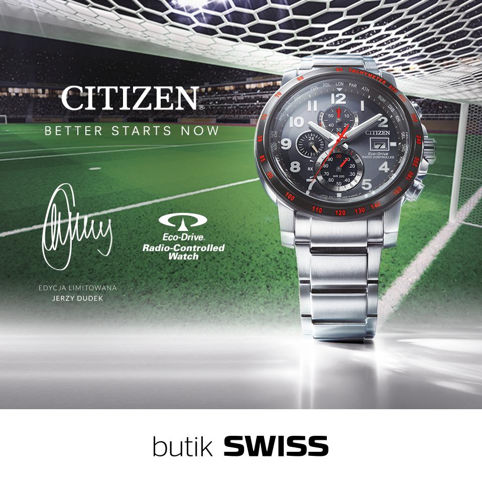 SWISS: mundialowe zegarki marki Citizen