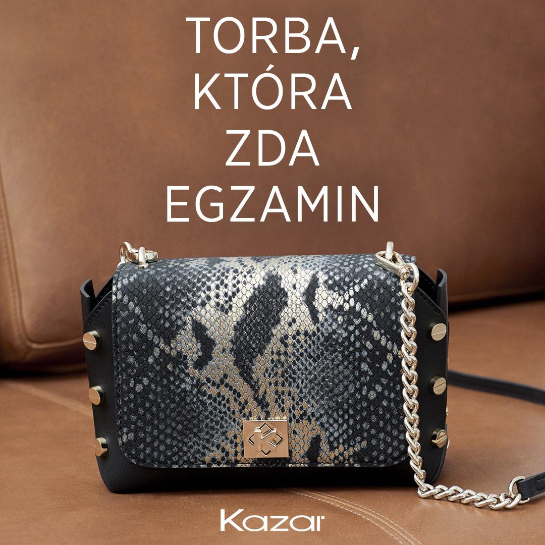 KAZAR: torba, która zda egzamin