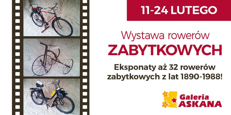 Wystawa rowerów zabytkowych