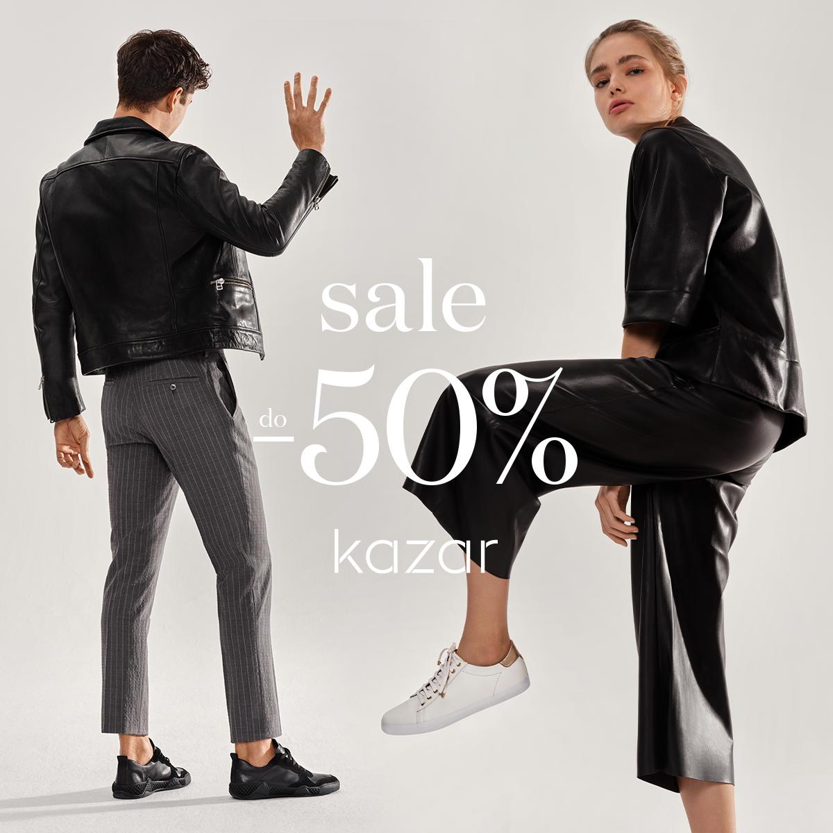 KAZAR: wyprzedaż do -50%