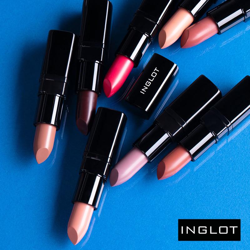 INGLOT: nowe kolory pomadek do ust LipSatin