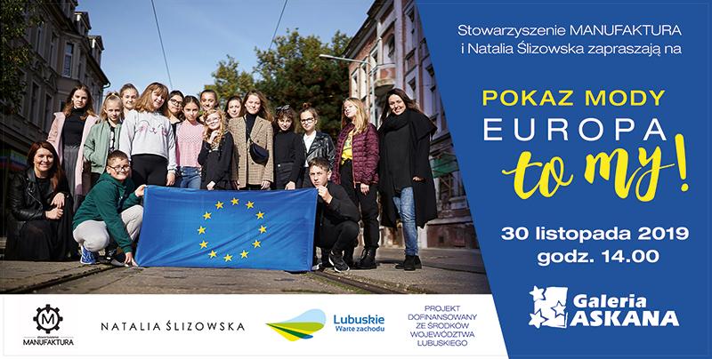 """Finał projektu """"Europa to MY"""" z Natalią Ślizowską w Galerii Askana"""