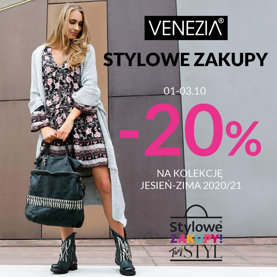 Stylowe Zakupy w VENEZIA!