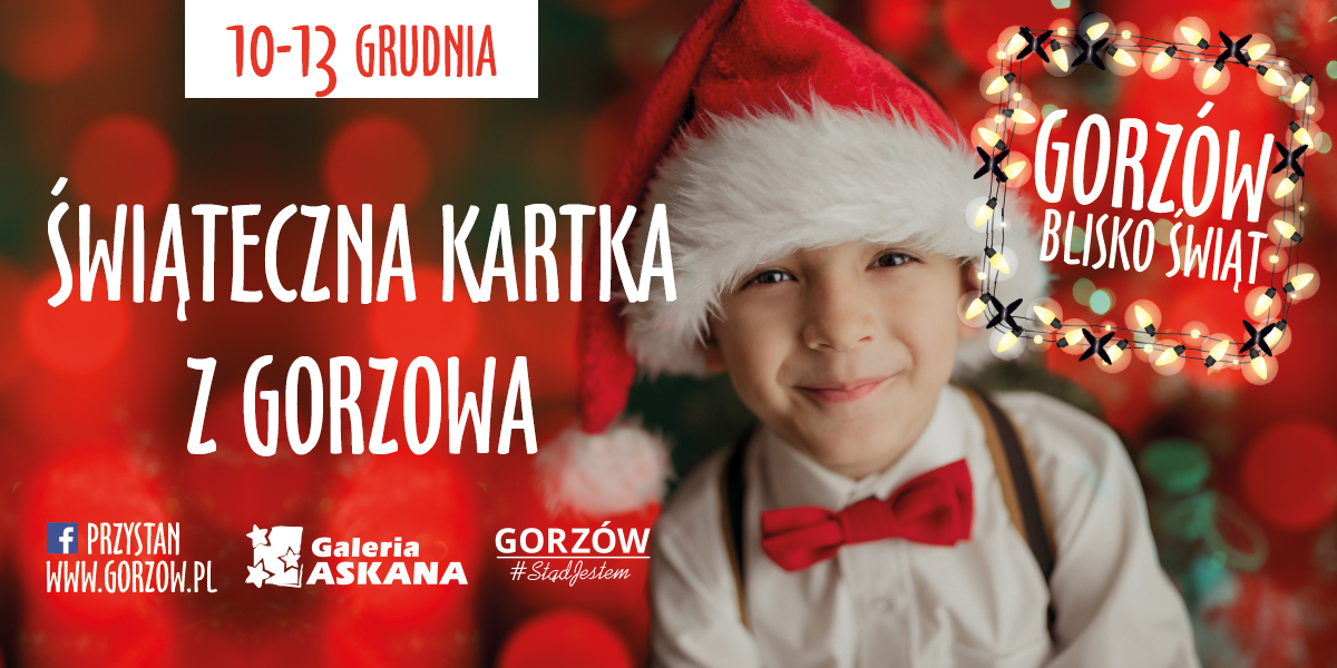 Świąteczna Kartka z Gorzowa w Galerii Askana