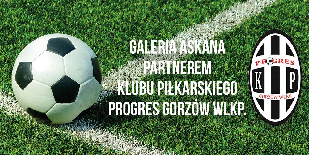 Galeria Askana partnerem Klubu Piłkarskiego Progres Gorzów Wlkp.