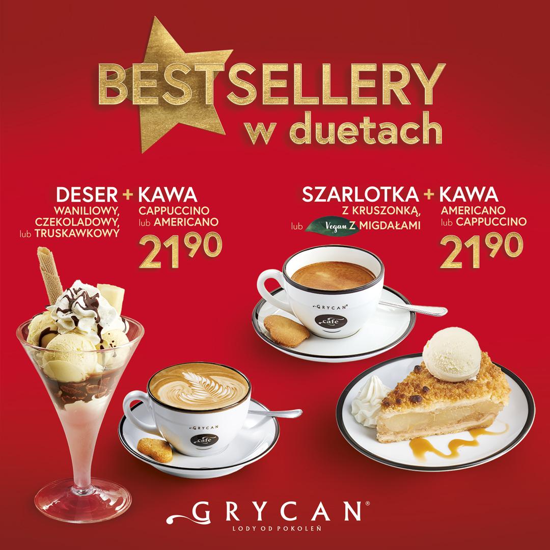 GRYCAN: bestsellery w duetach
