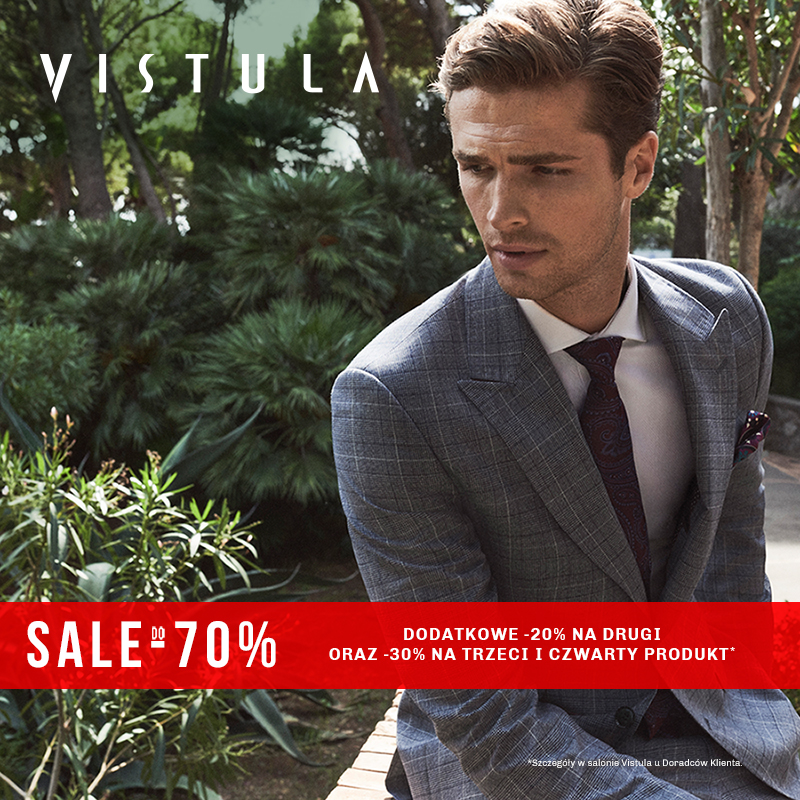 VISTULA: sale do -70%
