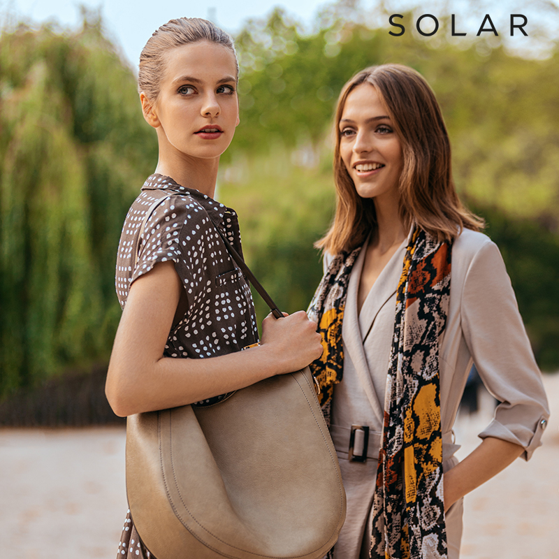 Kolekcja wiosna-lato 2020 marki Solar #ModnaSztuka