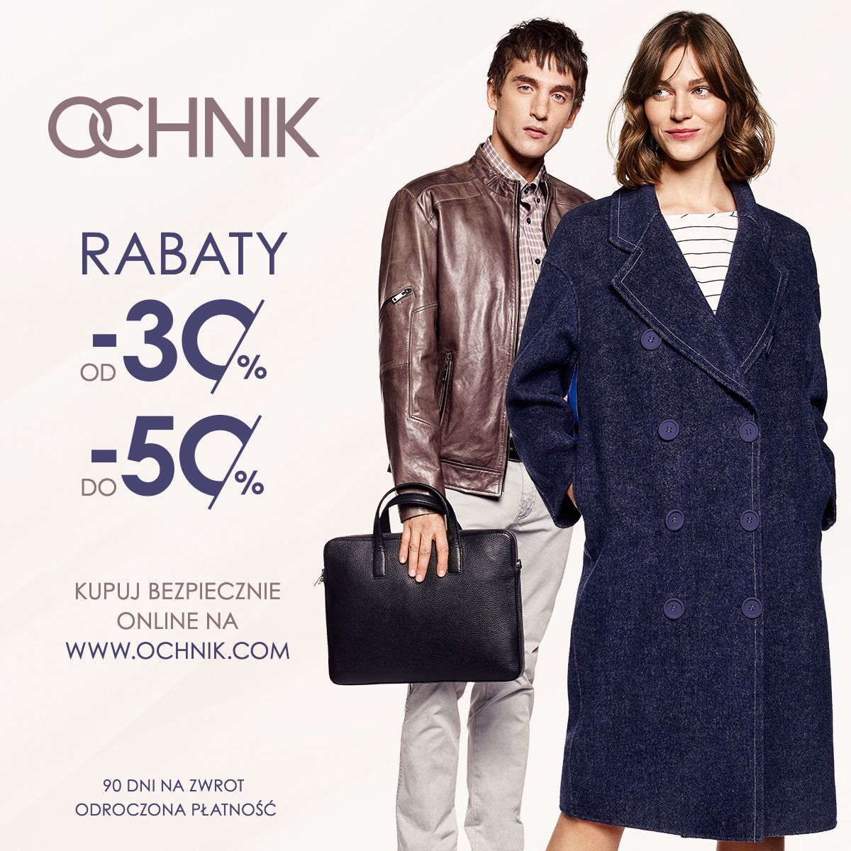 Stylowy Weekend z OCHNIK: Rabaty od -30% do -50%