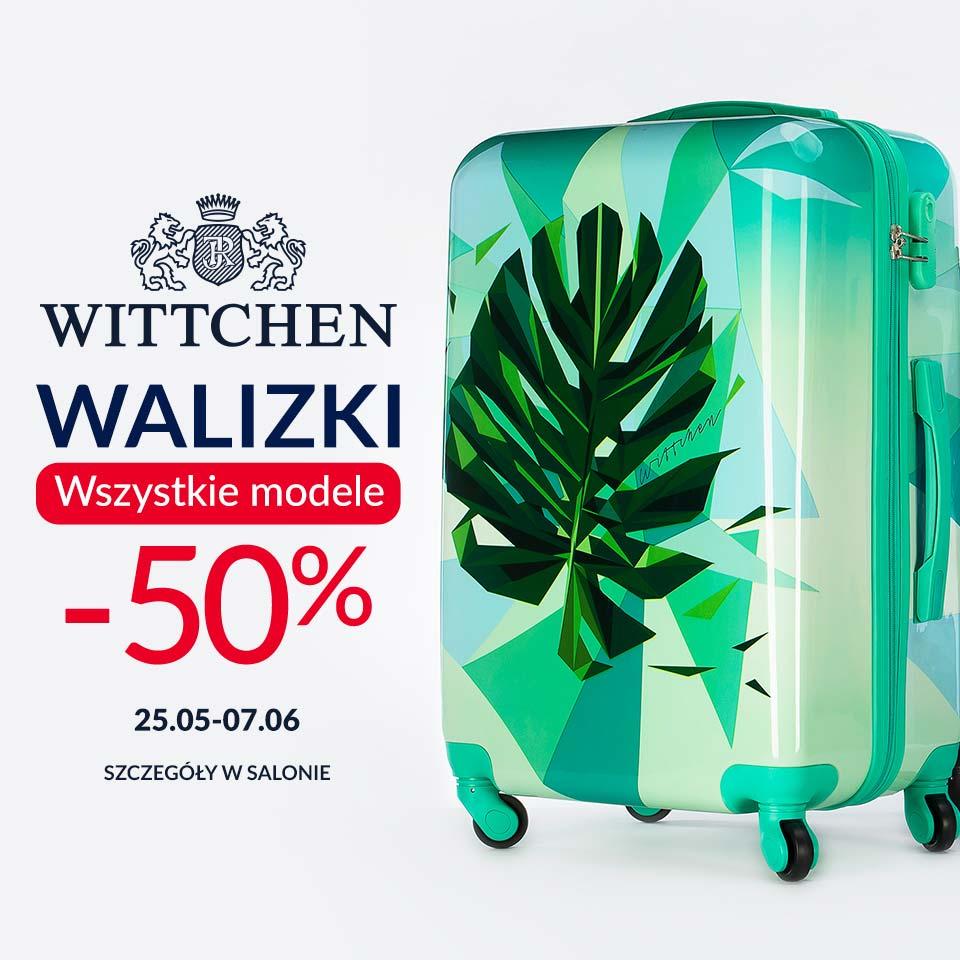 WITTCHEN: wszystkie walizki -50%