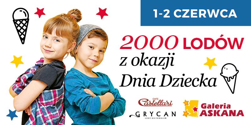 2000 lodów z okazji Dnia Dziecka