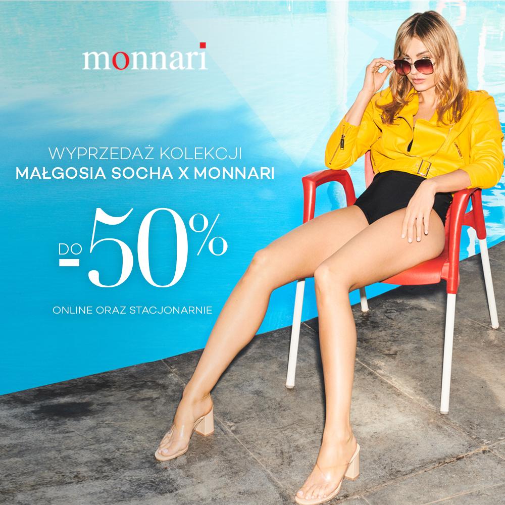 MONNARI: -50% na kolekcję Małgosia Socha x Monnari