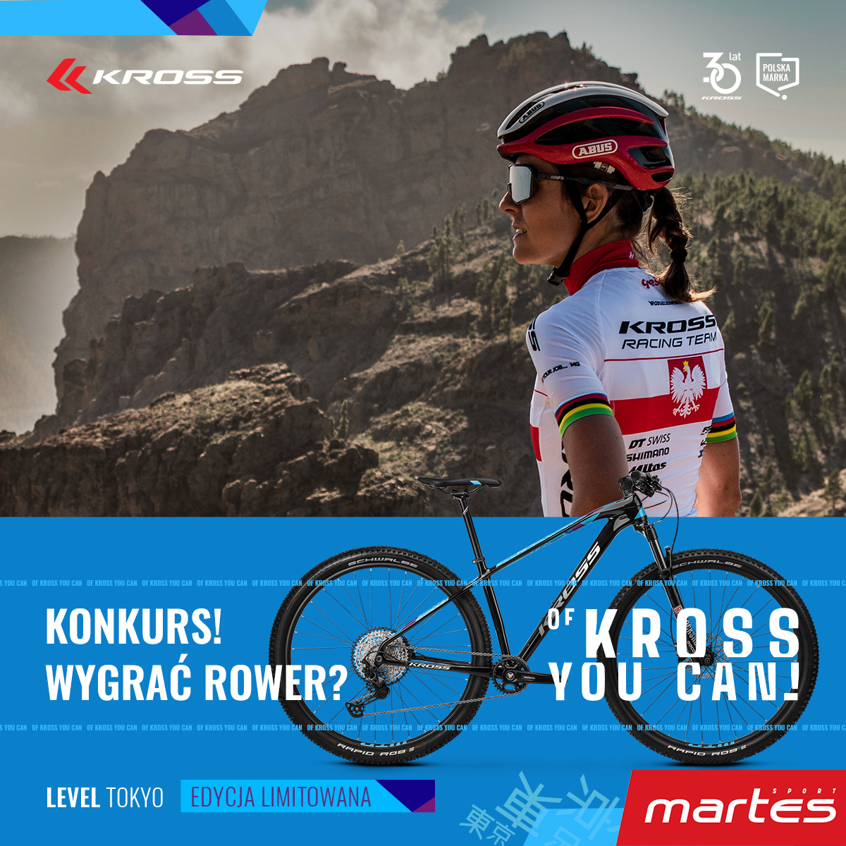 Konkurs z Martes Sport i KROSS!