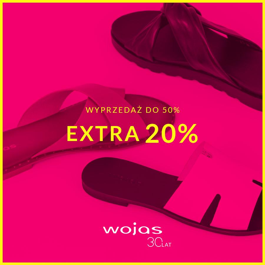 WOJAS: extra rabat -20% na wyprzedaż