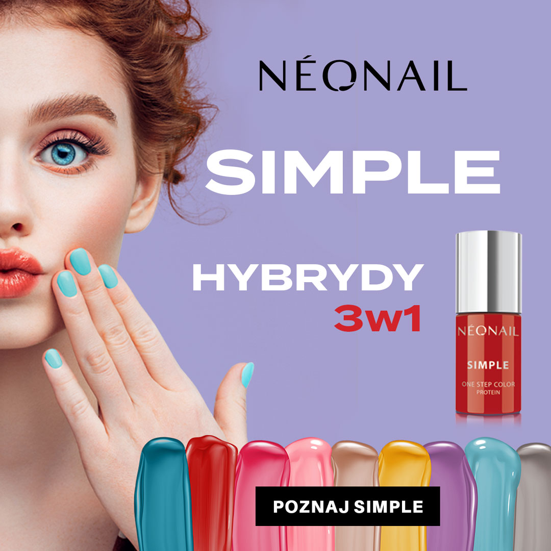 NEONAIL: kolekcja simple