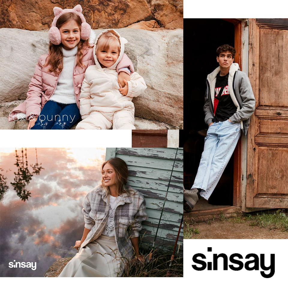 Górska sielanka w kampanii Sinsay A/W 2020