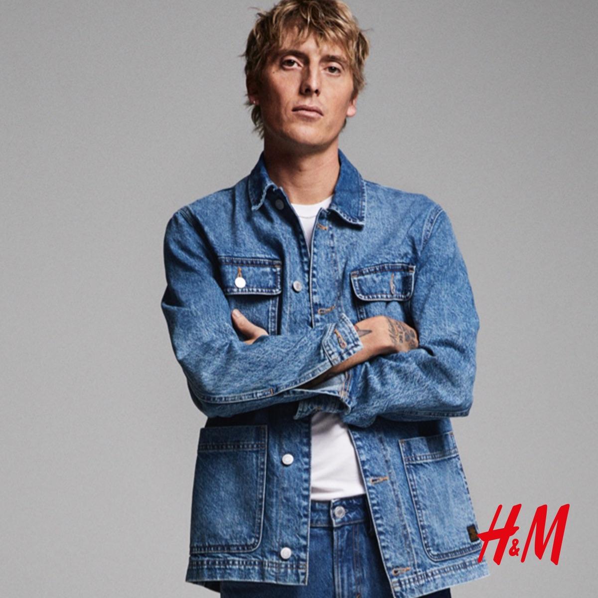 Dżinsowe klasyki dla Niego w H&M