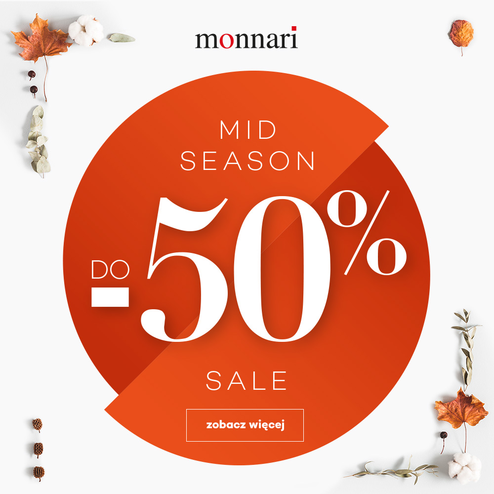 MONNARI: mid season sale