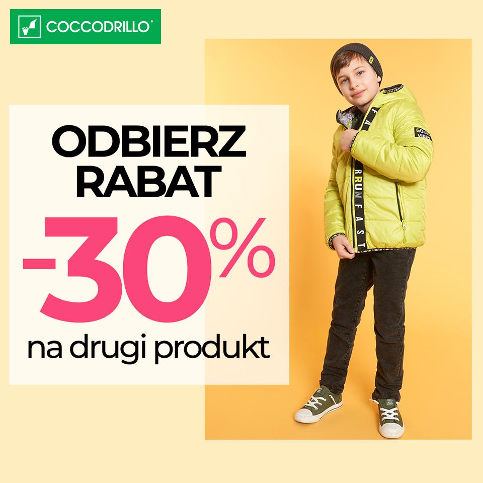 COCCODRILLO: odbierz rabat -30%