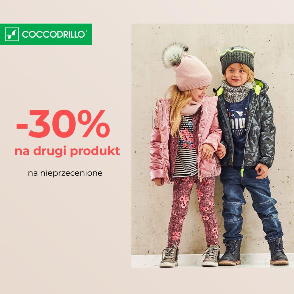 CCCODRILLO: drugi produkt -30%