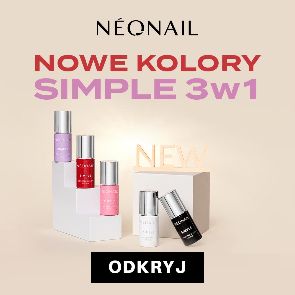 NEONAIL: nowe kolory Simple3w1