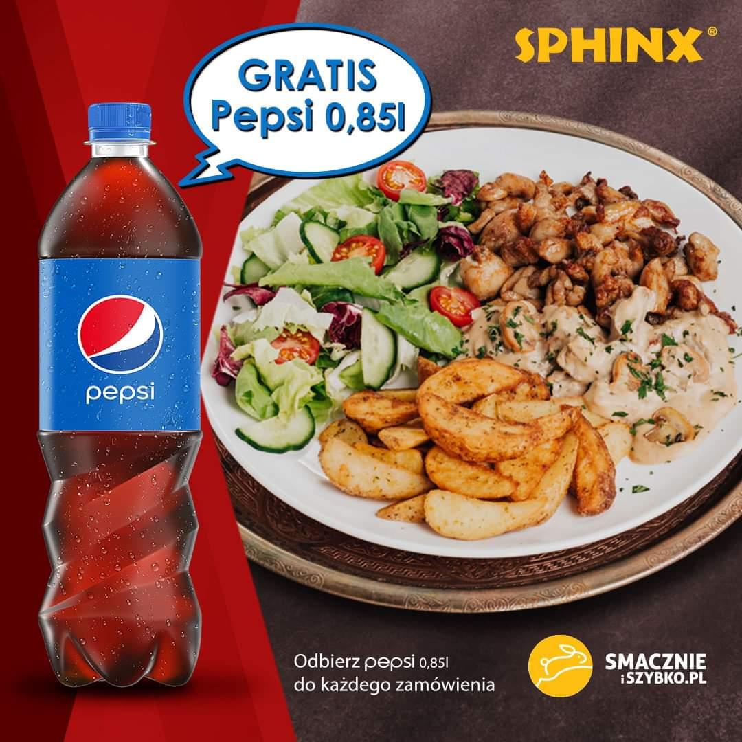SPHINX: Pepci 0,85L gratis