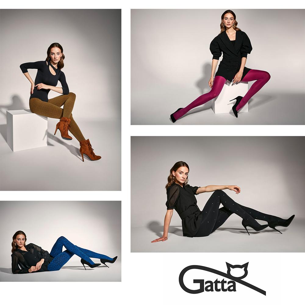 GATTA: para idealna – jakość i styl w nowej kolekcji rajstop