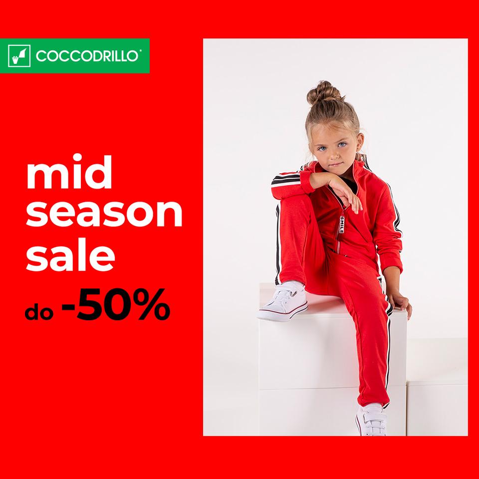 COCCODRILLO: mid season sale do -50%