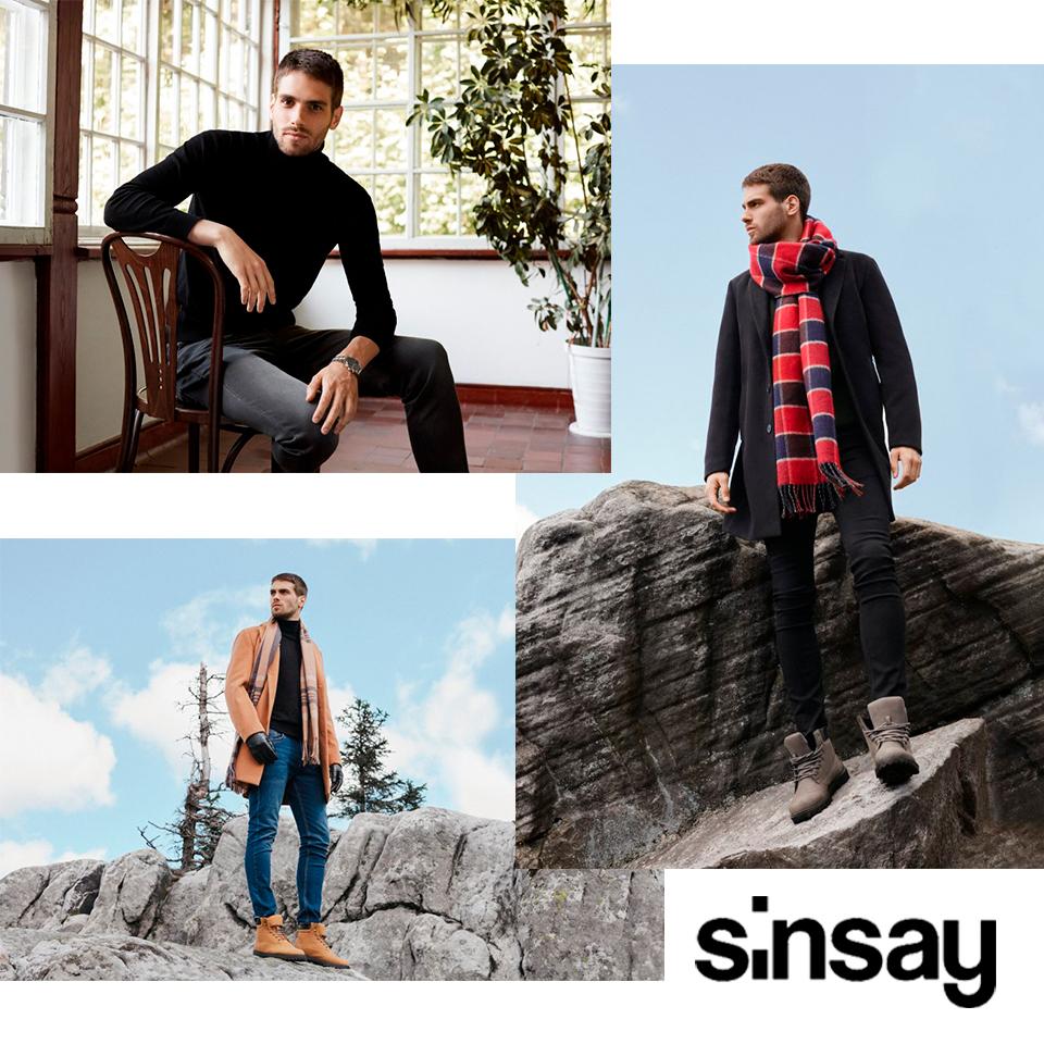 Męska kolekcja Sinsay A/W 2020