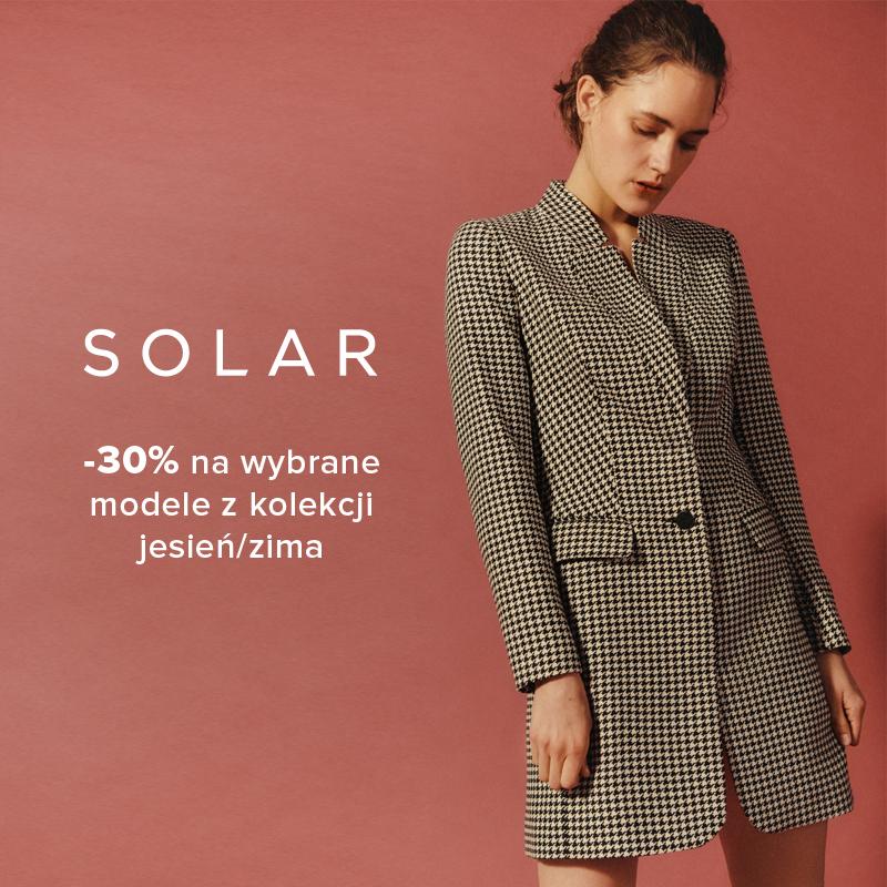 SOLAR: -30% na wybrane modele