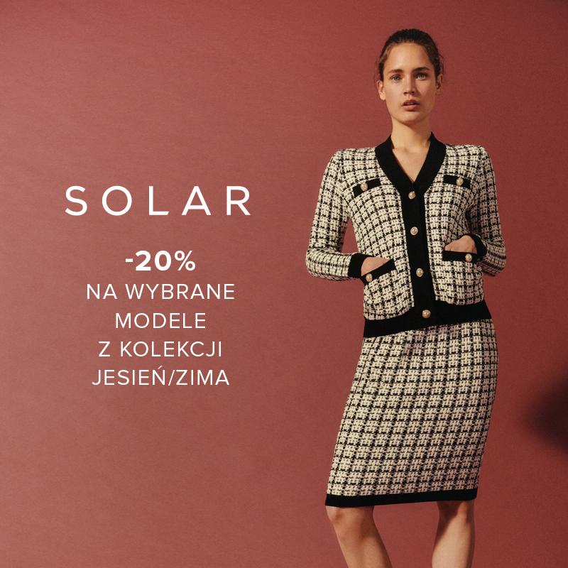 SOLAR: -20% na wybrane modele