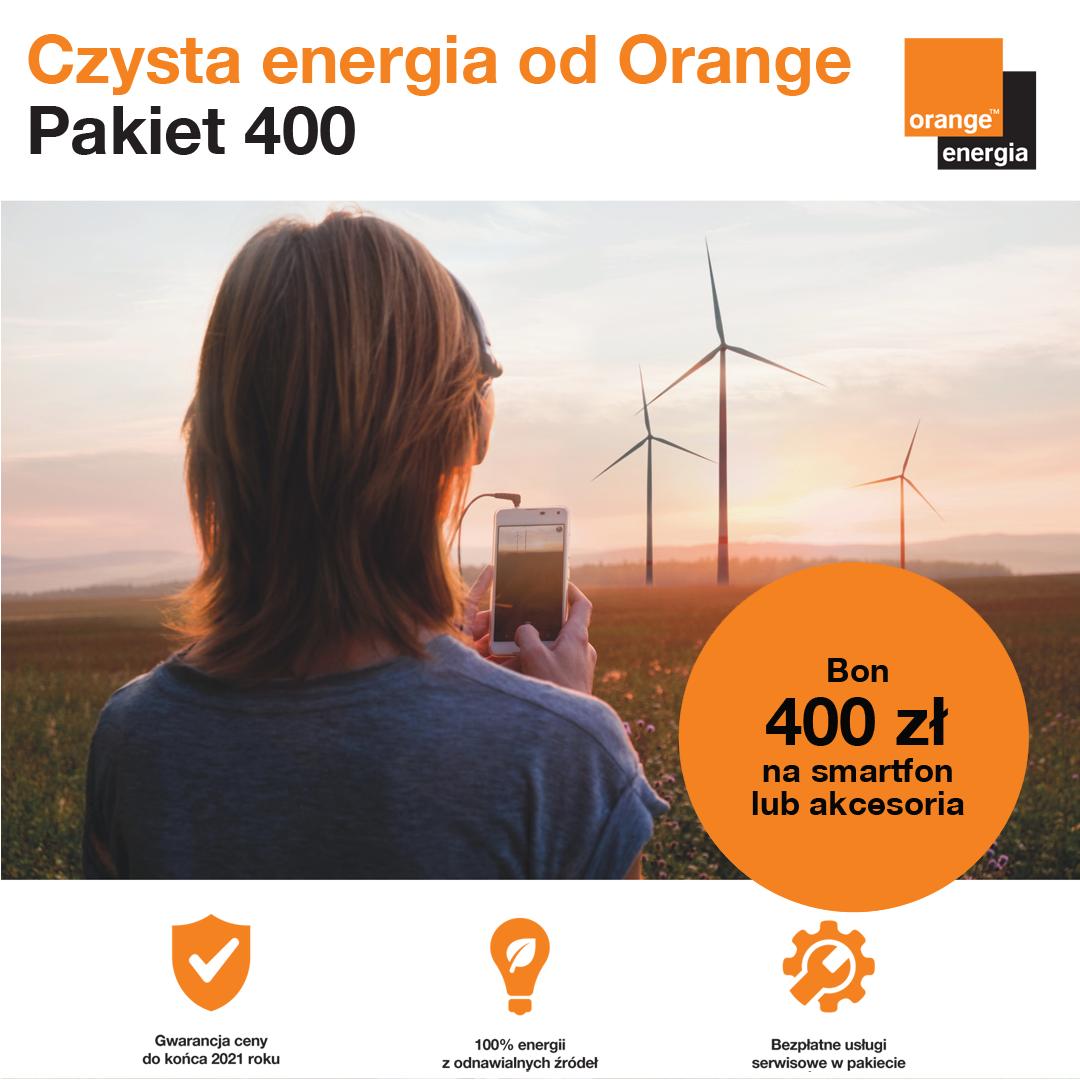 ORANGE: wybierz czystą energię