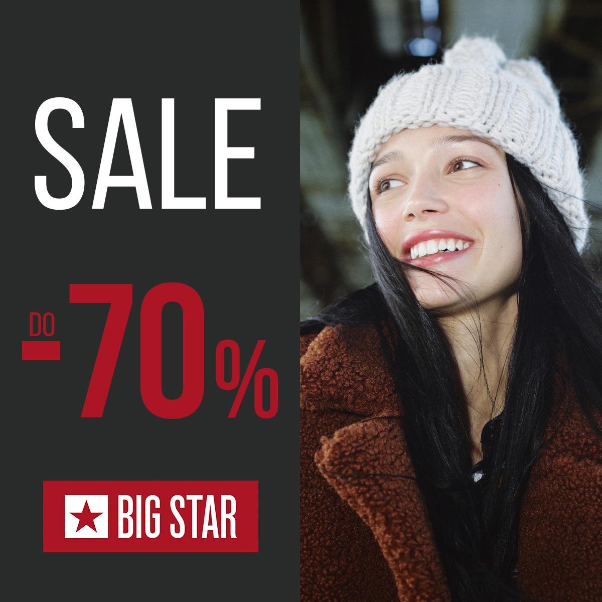 BIG STAR: wyprzedaż do -70%