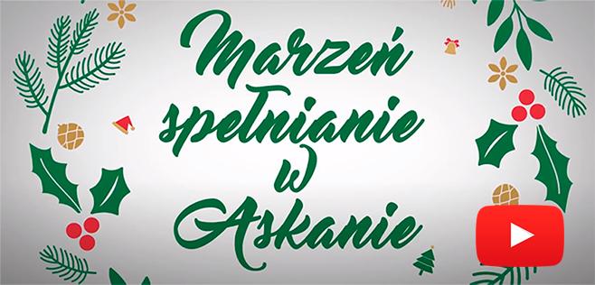 Wesołych Świąt życzy Askana – obejrzyj spot