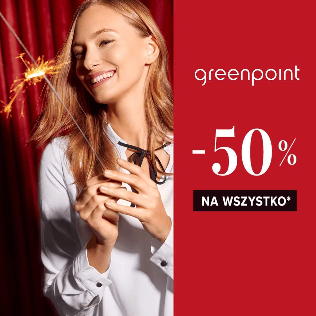 GREENPOINT: wyprzedaż do -50%