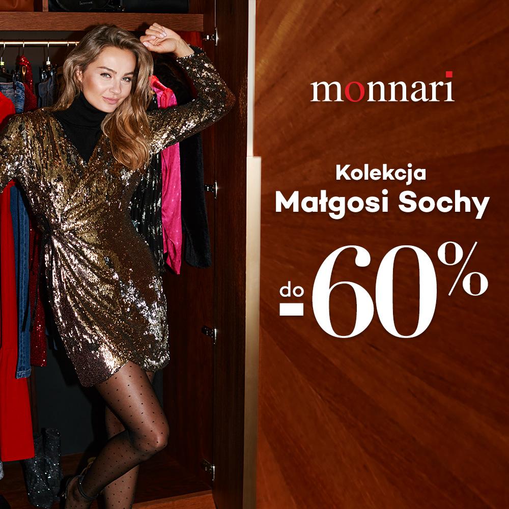 MONNARI: kolekcja Małgosi Sochy -60%