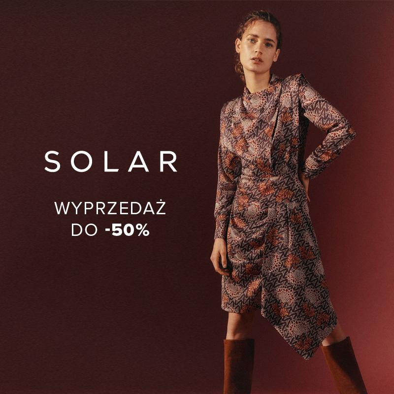 SOLAR: season sale do -50%