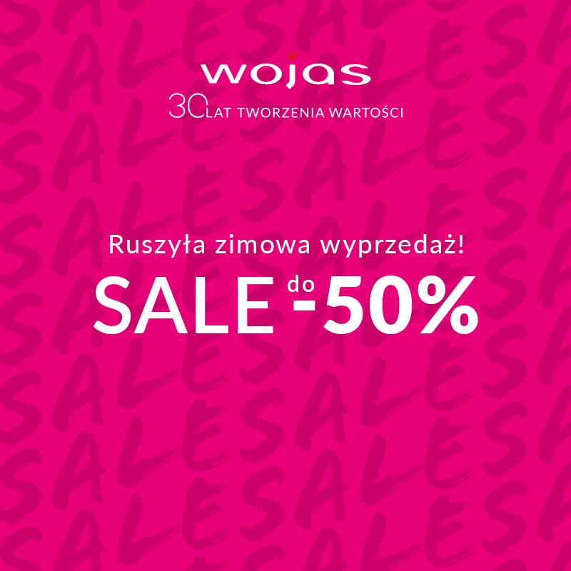WOJAS: winter sale do -50%