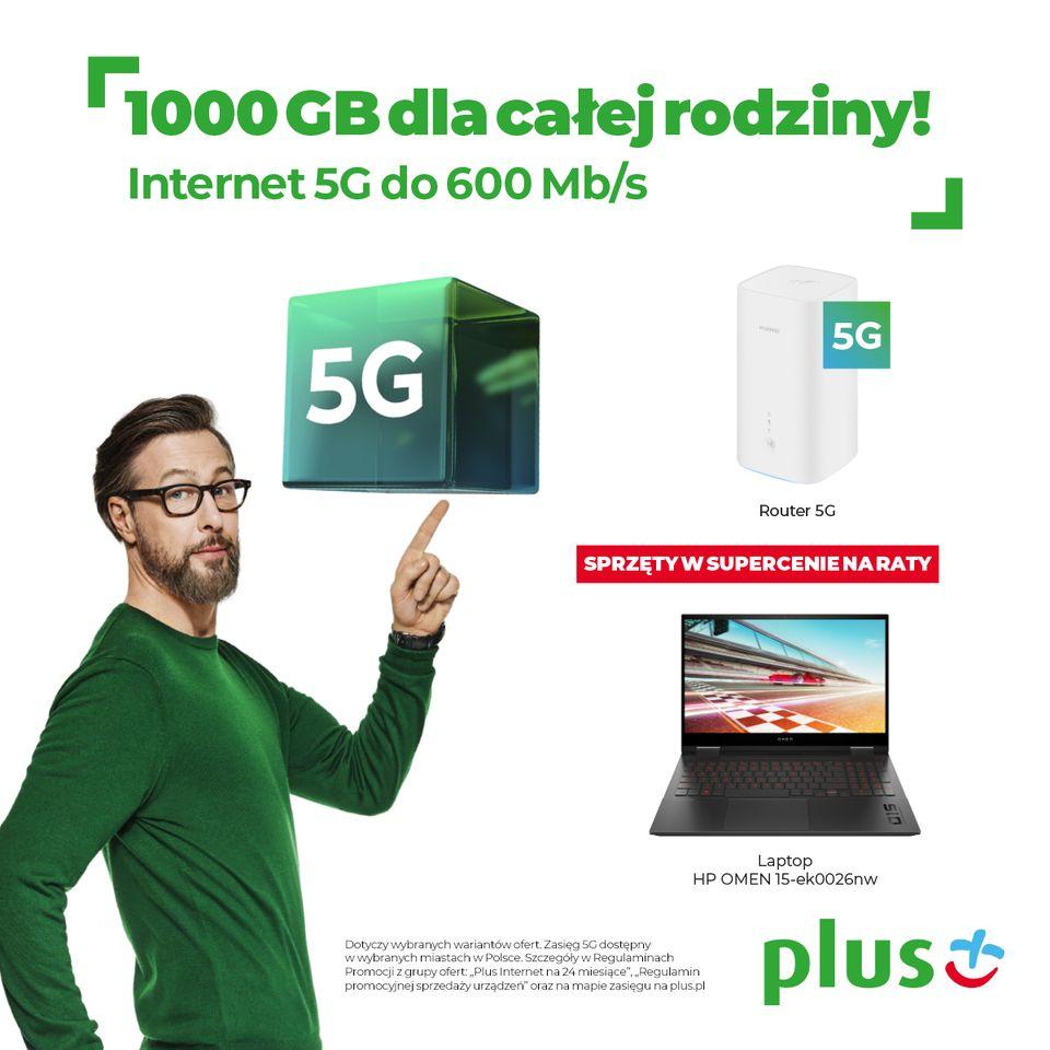 PLUS: internet w supercenie
