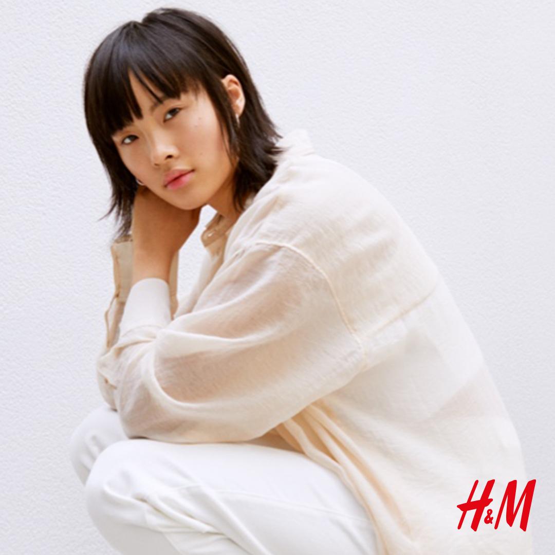 Cały na biało – stwórz swój look z H&M