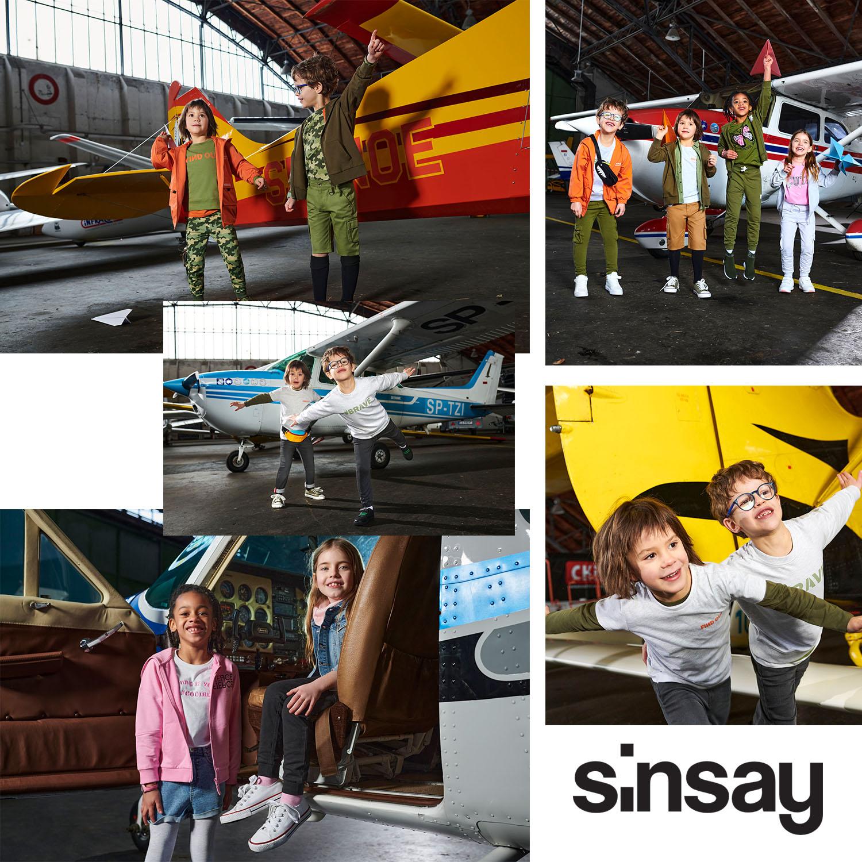 SINSAY: Army Girl & Cargo Boy