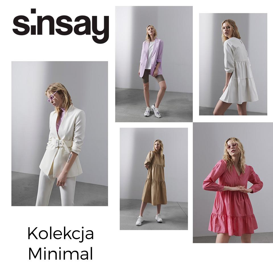 SINSAY: kolekcja mininal