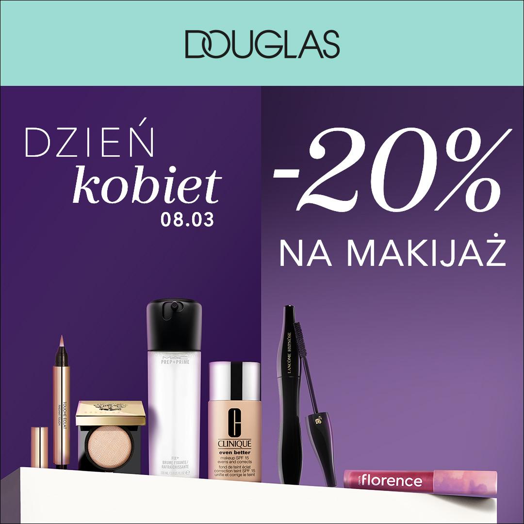 DOUGLAS: -20% na makijaż