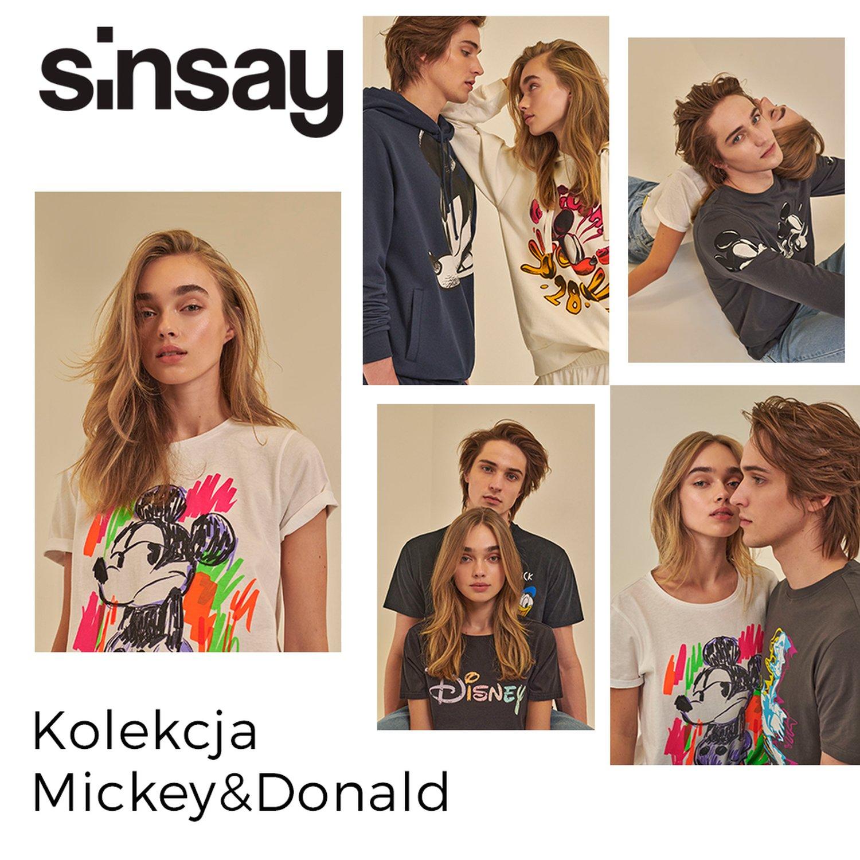 SINSAY: kolekcja Mickey & Donald