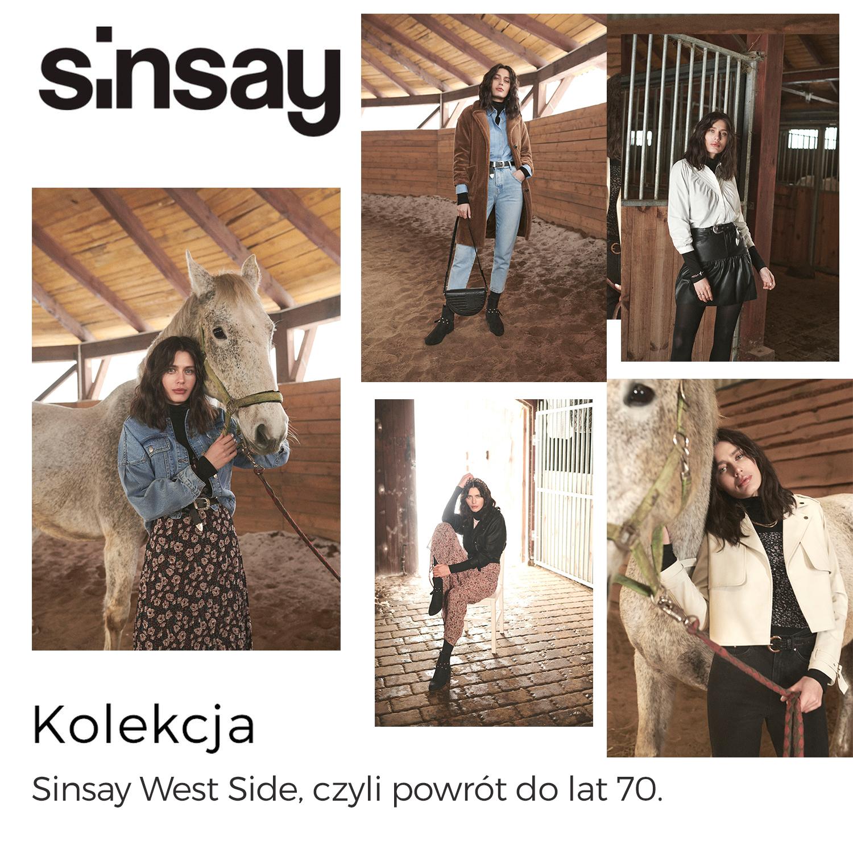 Sinsay West Side, czyli powrót do lat 70.