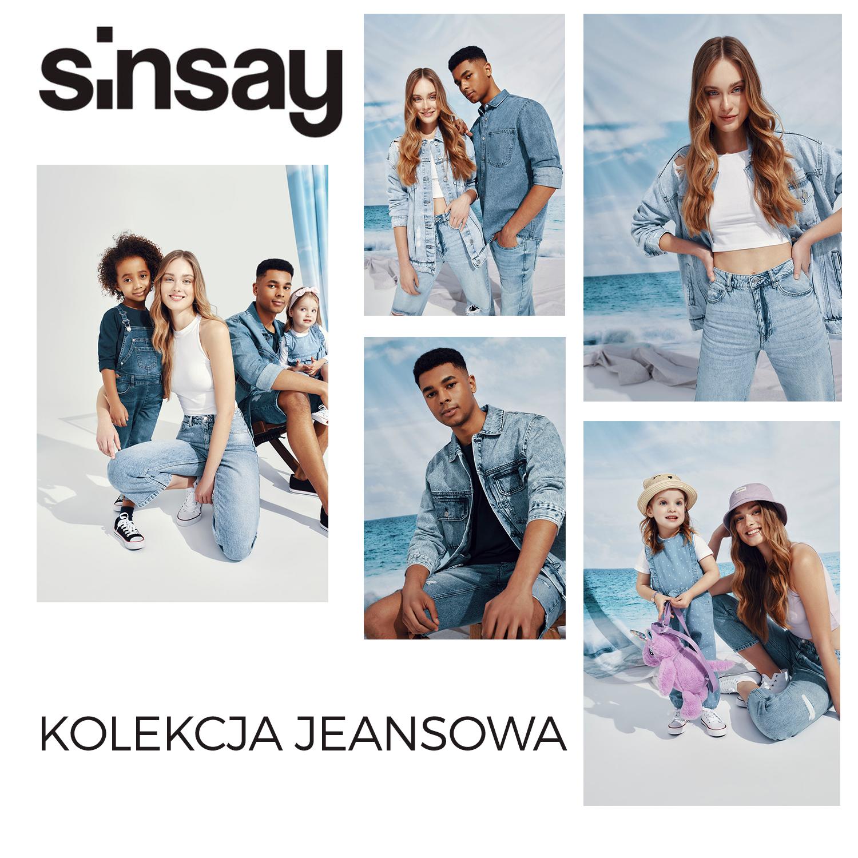 SINSAY: kolekcja jeansowa