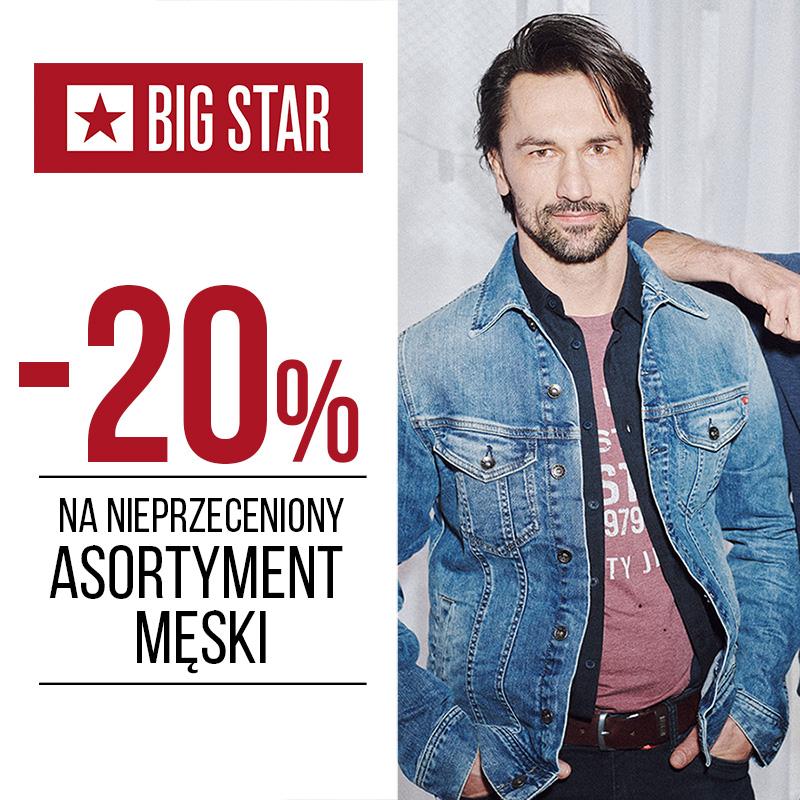 BIG STAR: nieprzeceniony asortyment męski -20%