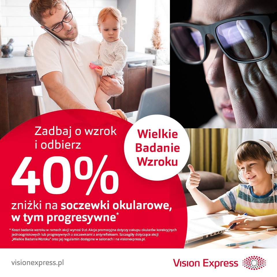 VISION EXPRESS: wielkie badanie wzroku