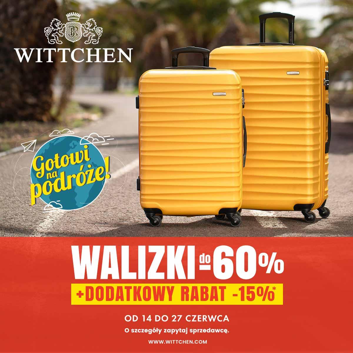 WITTCHEN: rabaty na walizki