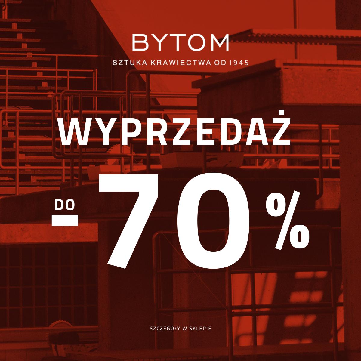 BYTOM: wyprzedaż do -70%